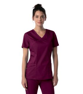 ProFlex 3 Pocket Faux Wrap Tunic - 4161-Landau