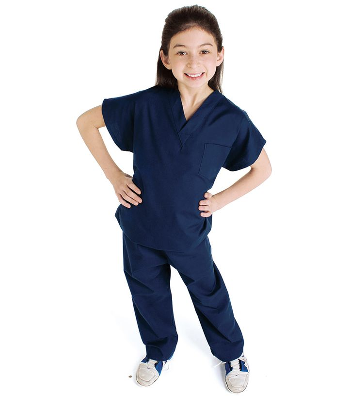 Landau Child's Scrub Set (Includes top and pant)-Landau