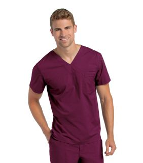 PreWash Men's V-Neck Tunic - 7478-Landau