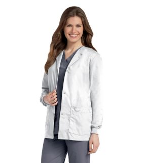 Landau Women's Warm-Up Scrub Jacket-