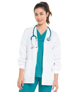 Womens Drawstring Warmup Jacket-Landau