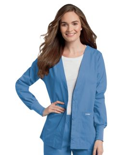 7535 Landau Women's Cardigan Warm-Up Jacket
