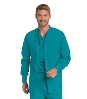 Landau Men's Warm-Up Scrub Jacket-Landau