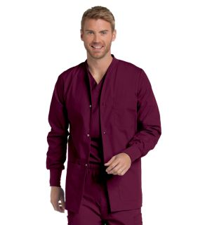 7551 Landau Mens Premium Warm-Up Jacket-Landau