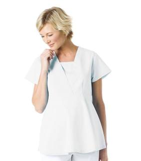 Landau Empire Waist Maternity Scrub Top-Landau