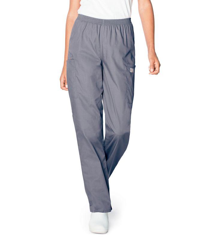Scrub Zone Ladies Elastic Waist Cargo Pant - 83221-Landau