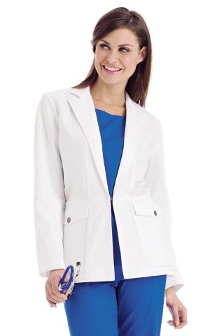 Jacket Style Lab Coat
