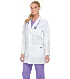 Zone Ladies 3 Button Lab Coat - 86002-Landau