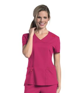 "Womens ""Melissa"" Surplice Scrub Top-Urbane"