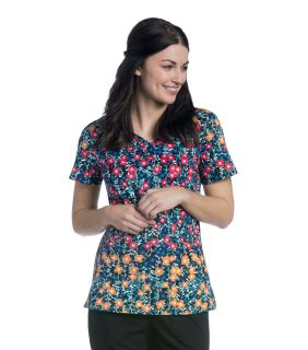 Womens Diamond Neckline Top-Urbane