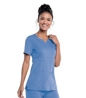 9062 Urbane Ultimate Empire Notch Neck Tunic-Urbane