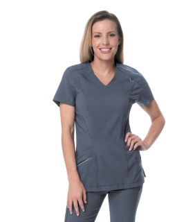Womens Core Control V Neck Top-Urbane