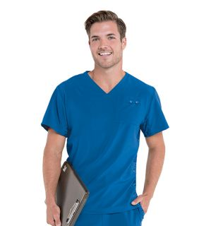 Mens Quick Cool V Neck Top-