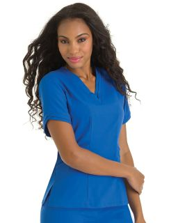 Womens Ella Double V-Neck Tunic-Urbane