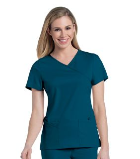9577 Sophie Crossover Tunic by Urbane Scrubs