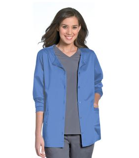 Urbane Ultimate Aubrey Front Button Scrub Jacket-Urbane