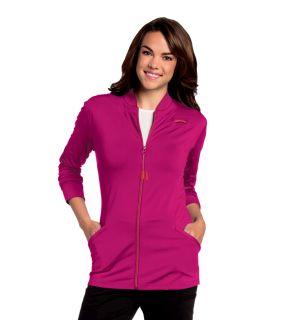 """Kristen"" Knit Zip Front Jacket-Urbane"