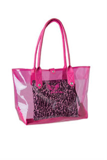Smitten 3 In 1 Clear Pvc Tote
