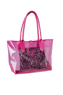 Smitten 3 In 1 Clear Pvc Tote-
