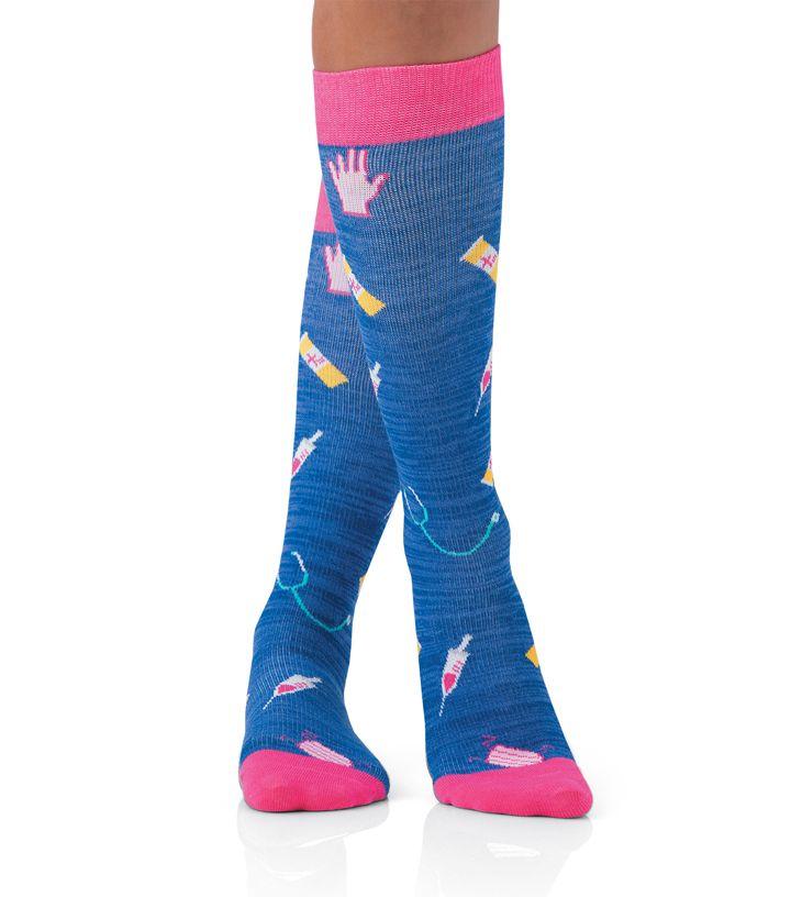 SOCKS - Landau Women's Compression Socks-Landau