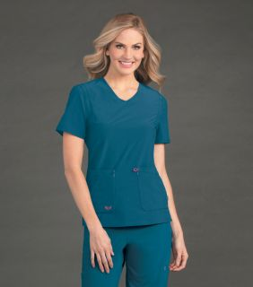 Smitten Notorious V Neck Top - S101034-Smitten