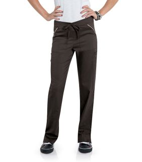 Womens Straight Leg Pant With Elastic-Smitten