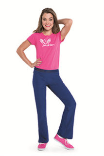 Womens Smitten Sport Slight Flare Pant-Smitten