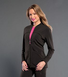 Tour - Womens Smitten Zip Front Jacket With Rib Detail-