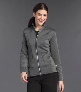 Smitten Cranked Ponte Zip Front Jacket - S303009-Smitten