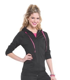 Womens Smitten Hooded Jacket-Smitten