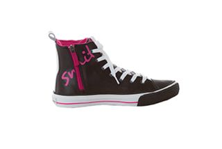 Zip Up High Top Slip Resistant Shoe-