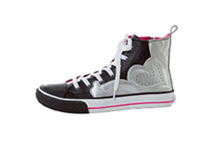 Zip Up High Top Slip Resistant Shoe