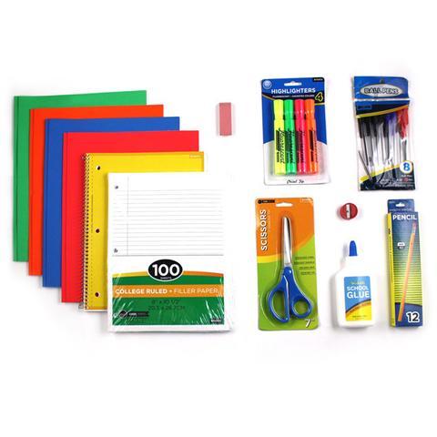 School Supply Kit Elementary -Faith Creative Names