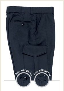 Ladies Comfort Zone SyNatural Cargo Trouser-Liberty Uniforms