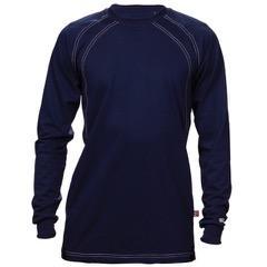 Long Sleeve Navy Knit FR Shirt-Renegade FR