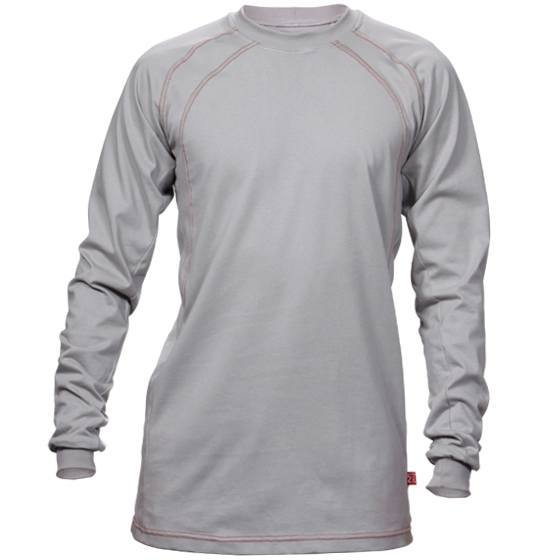 Long Sleeve Grey Knit FR Shirt-Renegade FR
