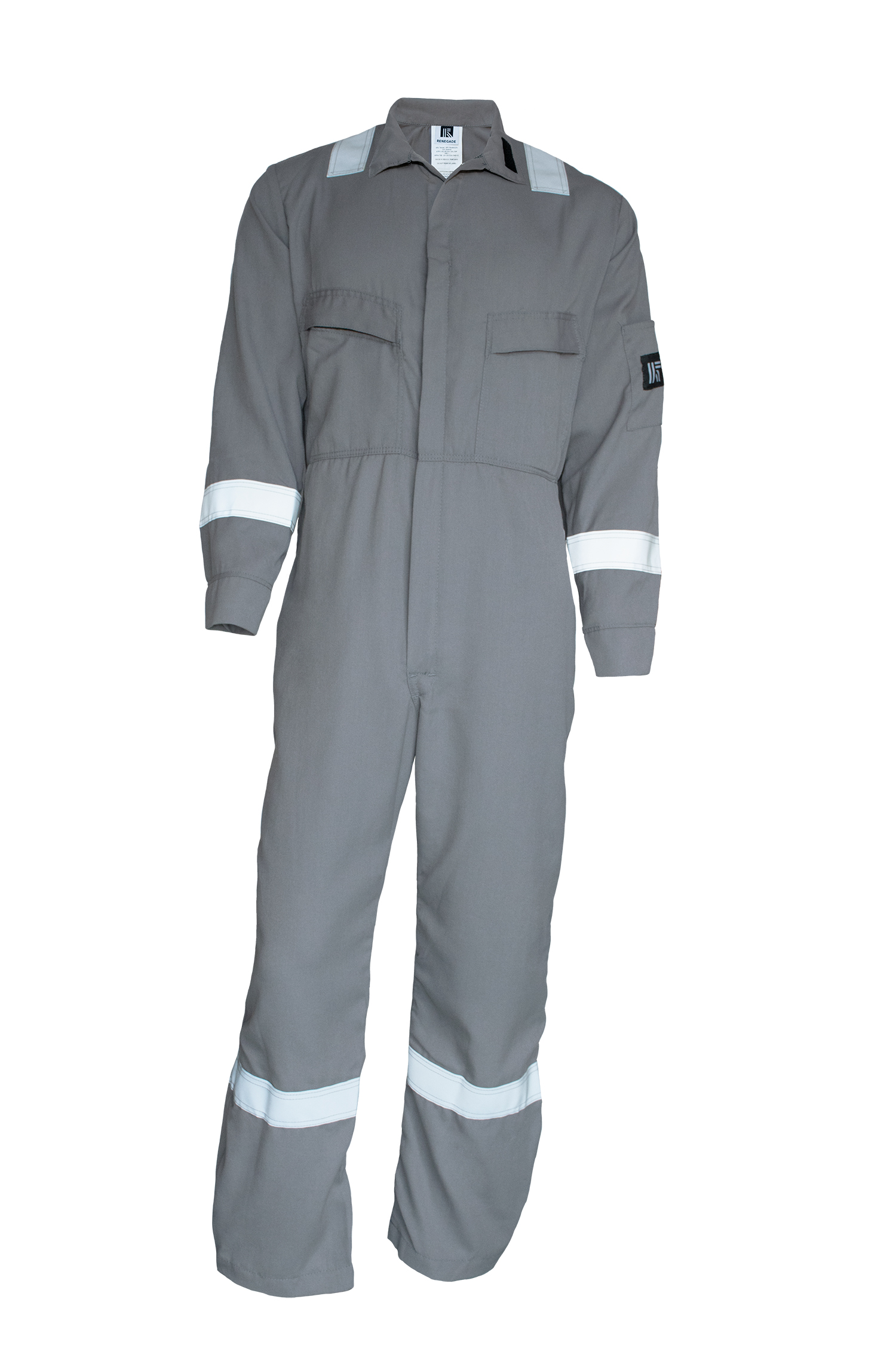 FR Cotton Oilfield Coverall with Logos-Renegade FR