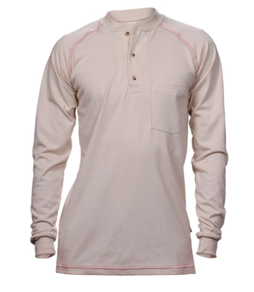Henley Cotton Jersey Shirt-Renegade FR