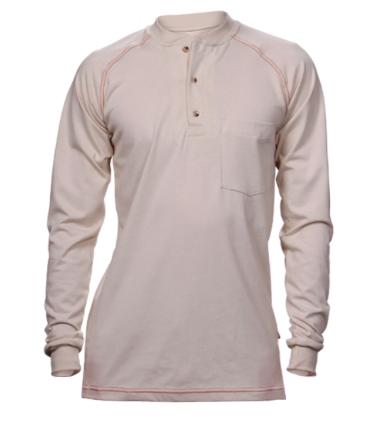 Henley Cotton Jersey Shirt-Renegade FR