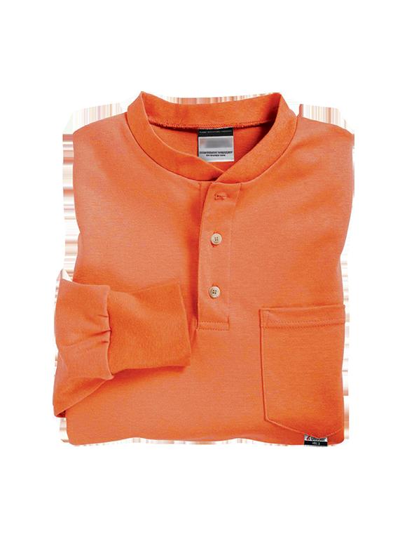 Henley FR Cotton Long Sleeve T-Shirt-Renegade FR
