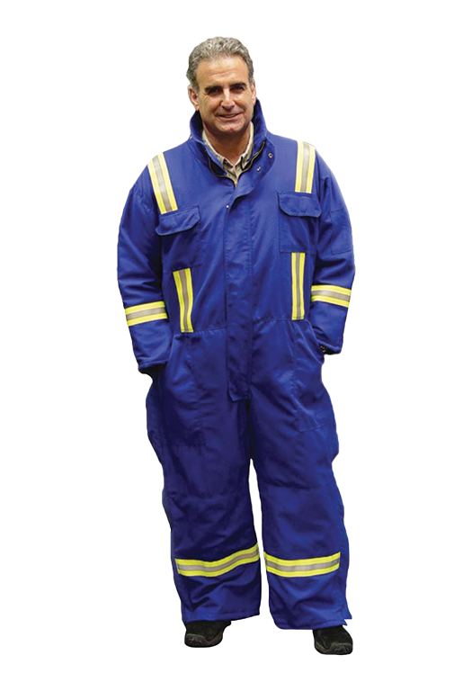 Insulated Coverall w/ reflective striping-Renegade FR