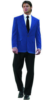MENS ROYAL POLY 2-BTN BLAZER-SU - SECURITY