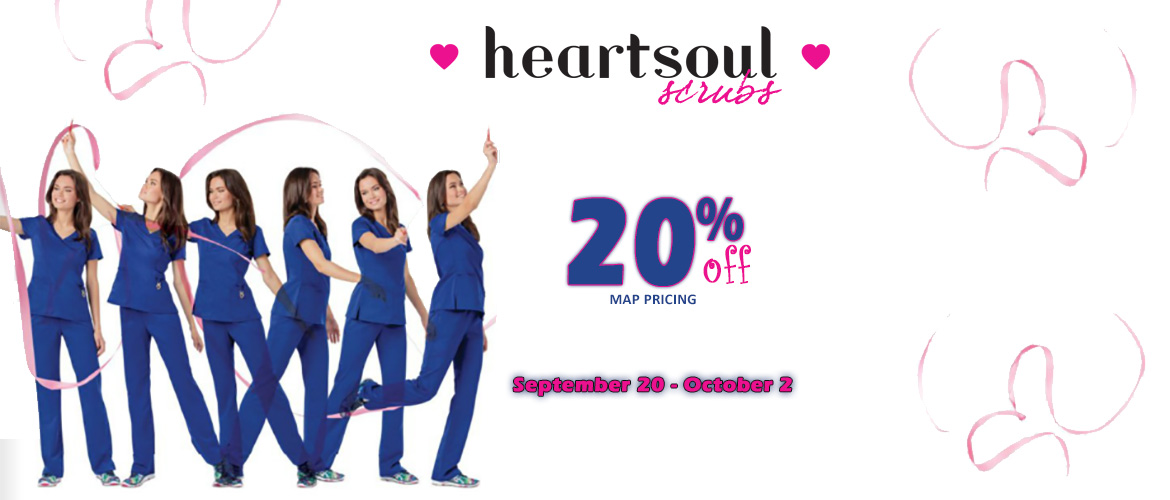 HeartSole 20% off MAP