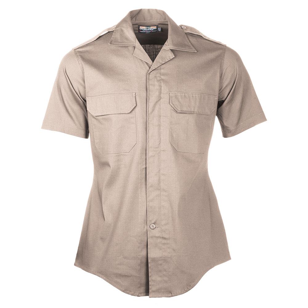 Women's - United Uniform Mfr. Line Duty Mini-RipStretch S/S Shirts - Women-United Uniform