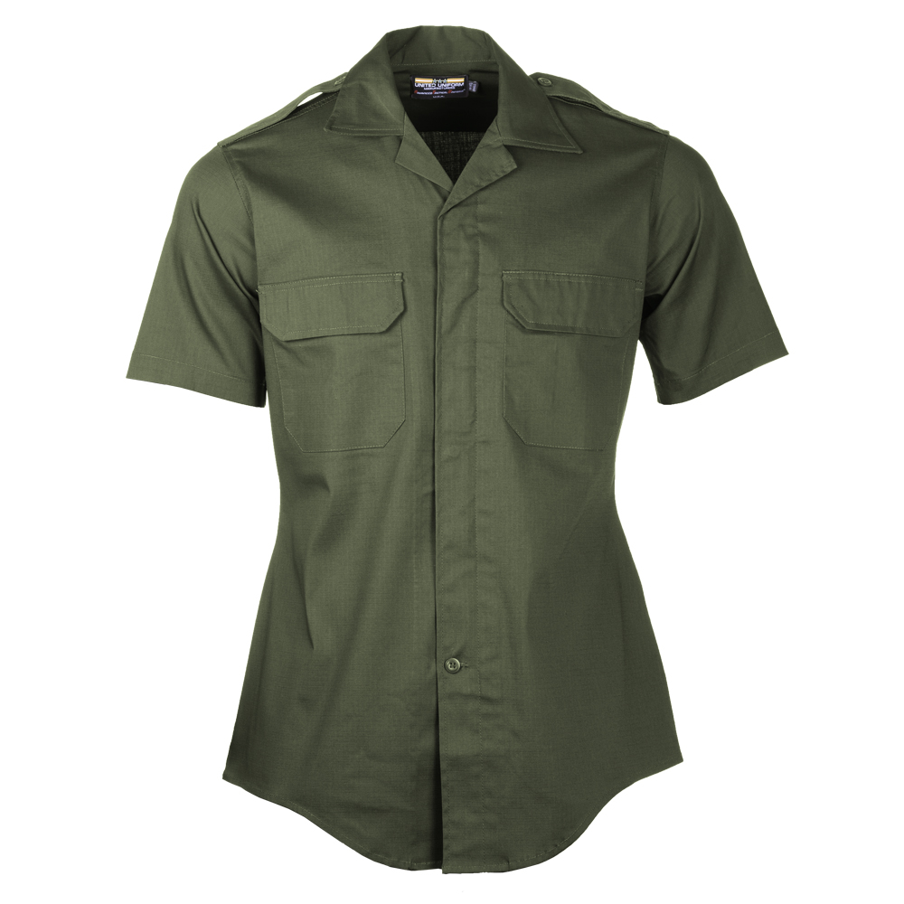 Men's - United Uniform Mfr. Line Duty Mini-RipStretch S/S Shirts-