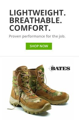 Lightweight . breathable . comfort . proven performance for the job . shop now, bates. Brown and black hiking boots