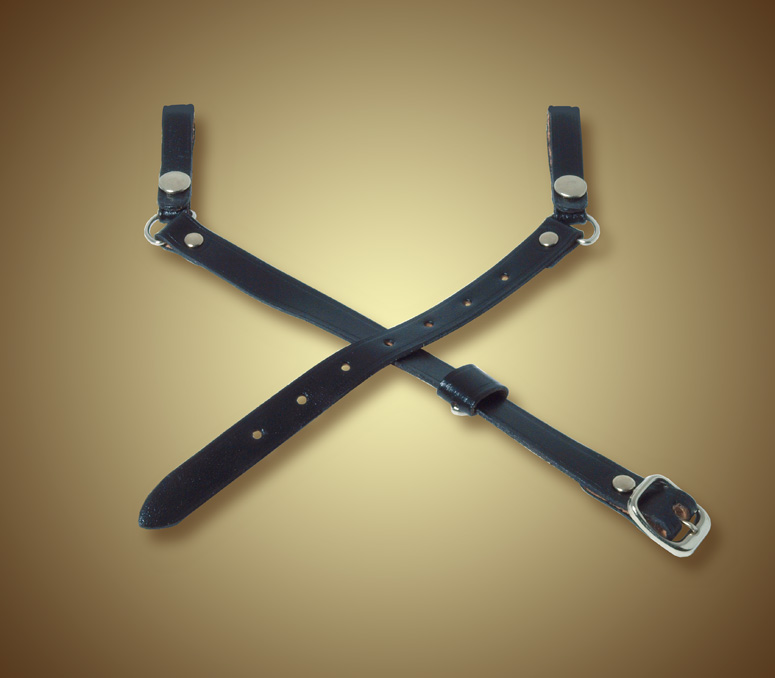 3 Piece Leather Strap-