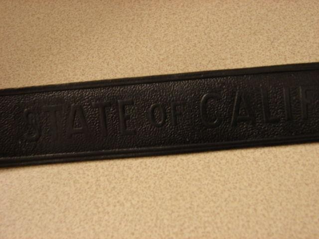 CA Parks Leather Hat Band-Ace Uniform