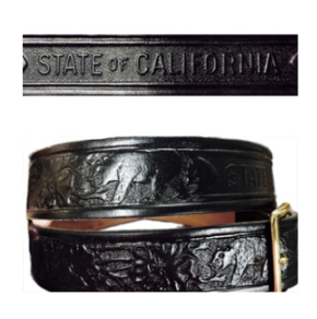 CA Parks Leather Belt-Ace Uniform
