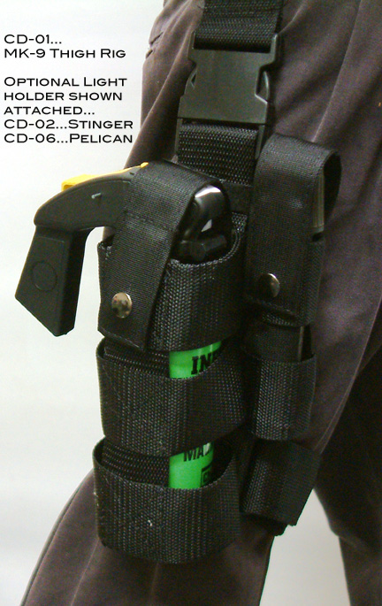 Single MK-9 Thigh Holder-